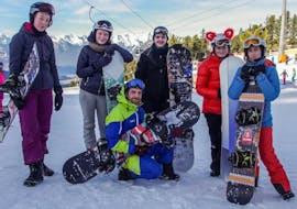 Cours de snowboard pour Tous niveaux avec Skischool MALI / MALISPORT Oetz