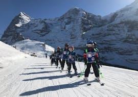 Cours de ski Enfants (dès 3 ans) pour Débutants avec École Suisse de Ski de Wengen