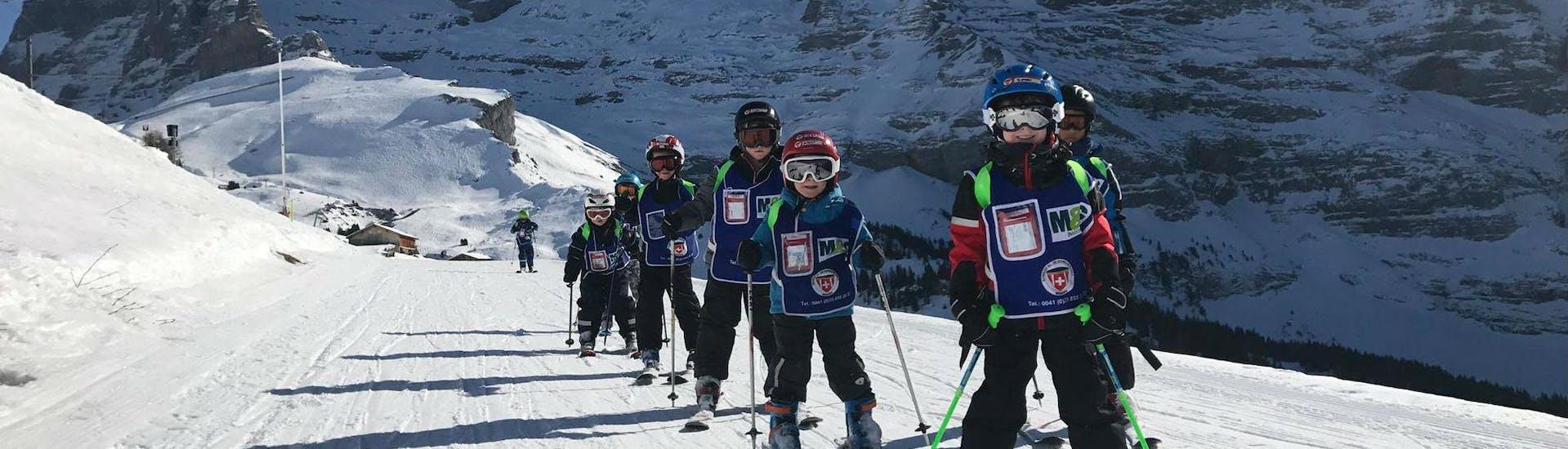 Kids Ski Lessons (from 3 y.) for Advanced Skiers met Schweizer Ski- und Snowboardschule Wengen - Hero image