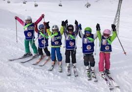 Skilessen voor kinderen vanaf 3 jaar - vergevorderd met Schweizer Ski- und Snowboardschule Wengen