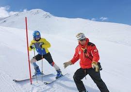 Skilessen voor volwassenen - vergevorderd met Schweizer Ski- und Snowboardschule Wengen