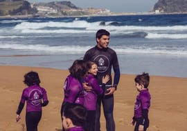Surfing Lessons for Kids & Adults - Summer - All Levels with Shelter Surf Eskola by Aritz Aranburu