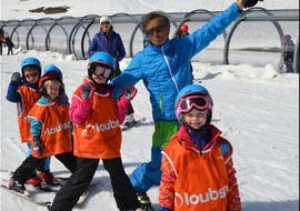 Kids Ski Lessons (4-5 y.) - February with ESI Pro Skiing Chatel
