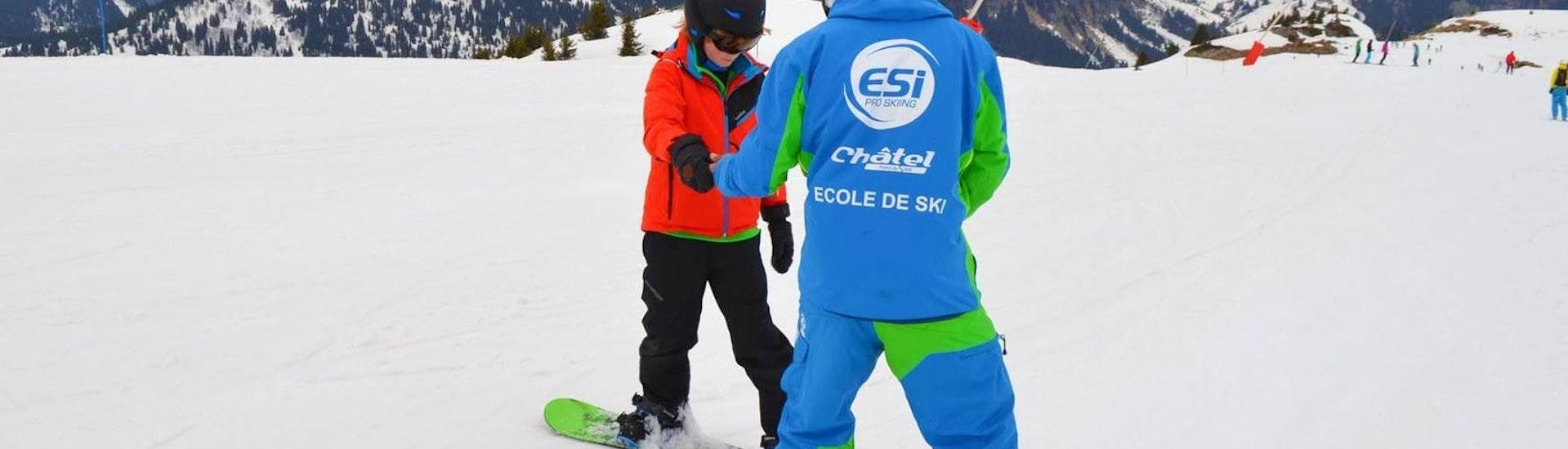 Private Snowboarding Lessons for Kids & Adults - Low Season with ESI Pro Skiing Chatel - Hero image