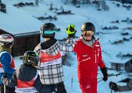 Clases de esquí para niños a partir de 6 años para principiantes con Schweizer Skischule Grindelwald