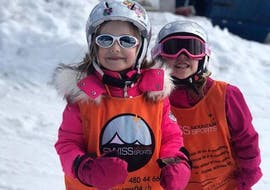 Kids Ski Lessons (3-6 y.) - Max 5 - Montana with Swiss Mountain Sports Crans-Montana