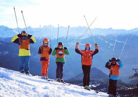 Teen Ski Lessons (12-15 y.) for All Levels - Max 5 - Montana with Swiss Mountain Sports Crans-Montana