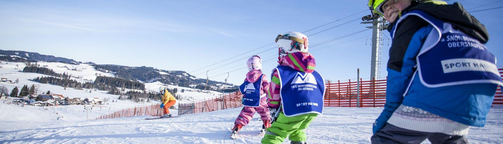 Kids Ski Lessons (5-15 years) on Hündle - All Levels met Skischule Oberstaufen - Hero image