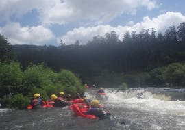 Hydrospeed on the Río Ulla  with Amextreme Aventura Galicia