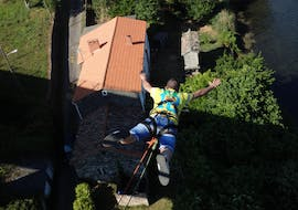 Bungee Jumping from Ceilán Bridge (25m) with Amextreme Aventura Galicia