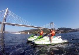 Jetskiën in Vigo - Rande Bridge met CiesJet Vigo
