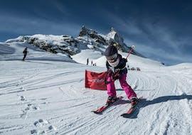 Kids Ski Lessons (5-12 y.) for Intermediates with Stoked Snowsports School Zermatt