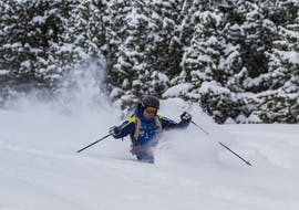 A private ski lesson for adults of all levels takes places in Cerler with Escuela Española de Esqui y Snow de Cerler.