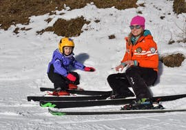 The Kids Ski Lessons (3-4 y.) - All Levels at the ski school Scuola Italiana di Sci Civetta help children to get started on their skis.