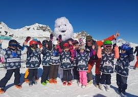 Premier Cours de ski Enfants (5-12 ans) - Matin - Arc 1800 avec Evolution 2 - Arcs 1600 & 1800