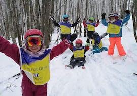 Skilessen voor kinderen vanaf 8 jaar - beginners met Moonshot Ski School La Bresse