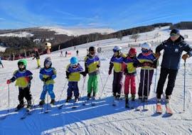 Skilessen voor kinderen vanaf 5 jaar - vergevorderd met Moonshot Ski School La Bresse