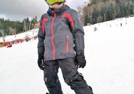 Snowboardlessen vanaf 8 jaar voor alle niveaus met Moonshot Ski School La Bresse