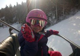 Privé skilessen voor kinderen vanaf 4 jaar voor alle niveaus met Moonshot Ski School La Bresse