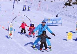 Cours de ski Enfants (3-6 ans) - Vacances - Matin avec ESI Font Romeu