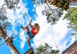 Adventure Park & Zipline in Varpolje with Funpark Menina - Savinja