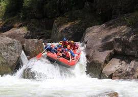 When the hydro dam is open, Wairoa River offers a challenge to all adrenaline lovers during White Water Rafting on Wairoa River in Tauranga with Rafting Adventure Rotorua.