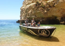 Private Boat Trip to the Benagil Cave in the Algarve with Tridente Boat Trips Algarve