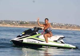 Jet Ski Hire at Armação de Pêra Beach with Moments Watersports Algarve