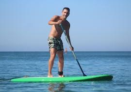SUP Rental at Armação de Pêra Beach with Moments Watersports Algarve