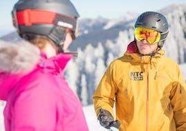 Privé skilessen voor volwassenen voor alle niveaus met NTC SPORTS Ski School Oberstdorf