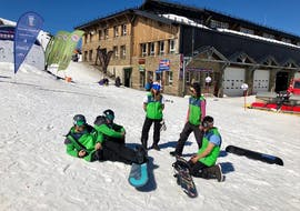 Snowboardlessen - ervaren met Escuela Internacional de Esquí Sierra Nevada