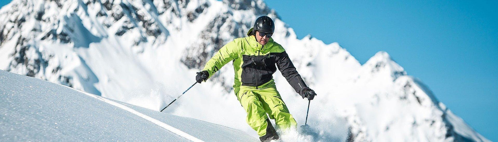 Privé Skilessen voor Volwassenen van Alle Niveaus met Ski School Bewegt Kaprun - Hero image