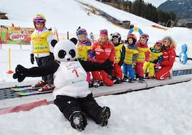 Many children have fun during the kids ski lessons (from 3 years) for advanced skiers with the ski instructor of Skischule Brunner in Bad Kleinkirchheim.