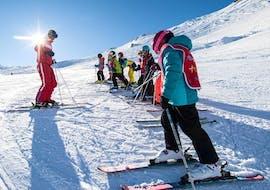 Clases de esquí para niños a partir de 5 años para debutantes con ESF Val Cenis