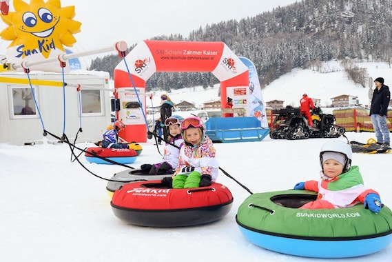 Kids Ski Lessons (3-4 y.) for Beginners
