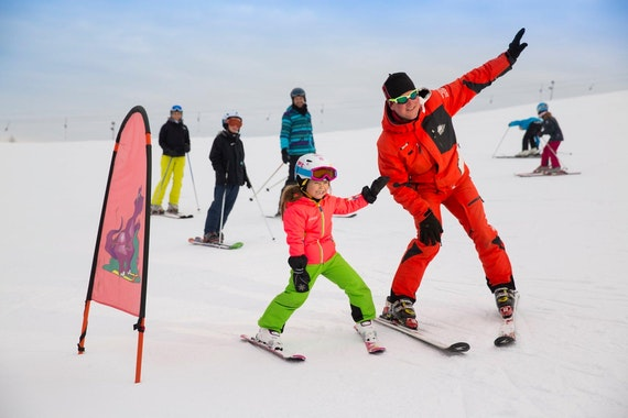 Kids Ski Lessons (from 5 y.) for Beginners