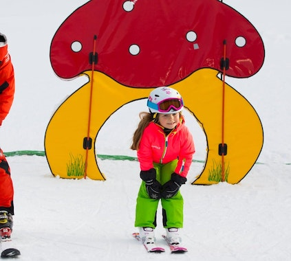 Kids Ski Lessons (from 5 y.) for Intermediate Skiers