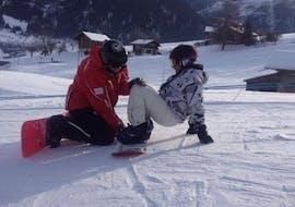 Clases de snowboard privadas para todos los niveles con Swiss Ski School Zweisimmen