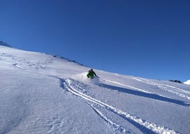 Private Off-Piste Skiing Lessons for Advanced Skiers with Family Skiing Zermatt