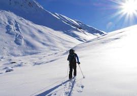 Ski de randonnée privé pour Débutants avec Happy Mountains Vars