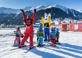 Premier Cours de ski Enfants (jusqu'à 6 ans) avec École Suisse de Ski de  Klosters