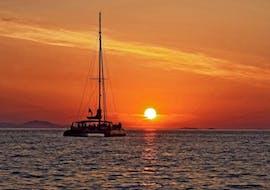 Luxury Sunset Catamaran Cruise w/ BBQ & Cocktails with Spiridakos Sailing Cruises Santorini