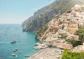 The stunning city of Positano that you can visit during the boat trip from Sorrento to Positano and Amalfi with Lubrense Boats Costiera Amalfitana.