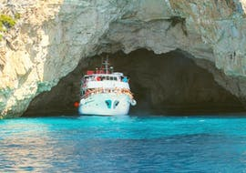 Photo during the Boat Trip to the Lakka-Paxos, Antipaxos & Caves from Lefkimmi with Corfu Cruises.