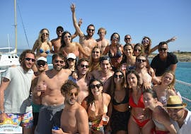 A private boat trip with swimming goes to Formentera with Ibiza Nautical Excursion