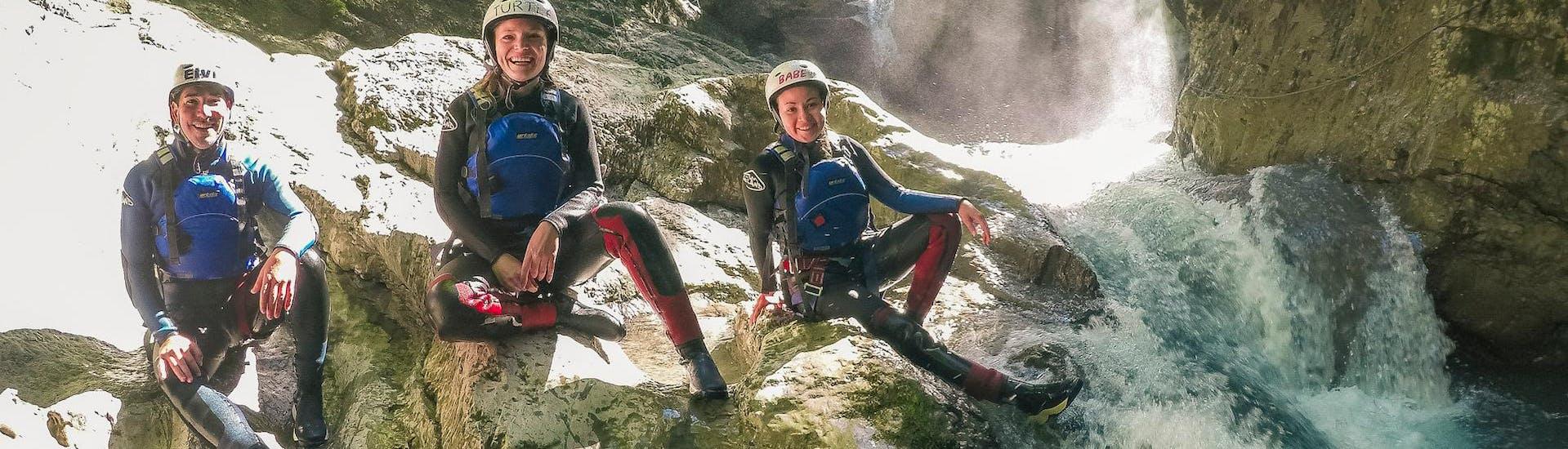 Canyoning dans le canyon de Saxetens pour Débutants avec Outdoor Interlaken - Hero image