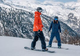 People are doing Kids & Adult Snowboarding Lessons (from 6 y.) for All Levels  with Swiss Ski School Zermatt - Zermatters.