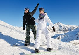 Private Snowboarding Lessons for All Levels & Ages with Adrenaline Ski School Verbier