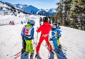 Kids Ski Lessons (5-12 y.)  for All Levels - Nendaz met Neige Aventure Nendaz & Veysonnaz