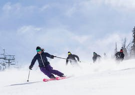 Private Ski Lessons for Adults - Morning - 2 hours avec Neige Aventure Nendaz & Veysonnaz